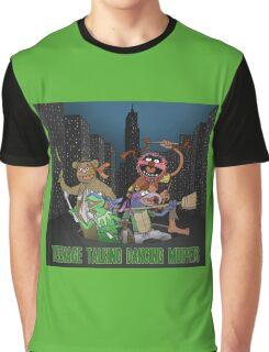 Teenage Talking Dancing Muppets Graphic T-Shirt