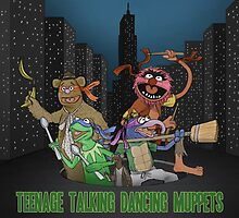 Teenage Talking Dancing Muppets by agliarept