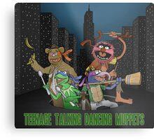 Teenage Talking Dancing Muppets Metal Print