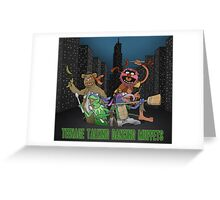 Teenage Talking Dancing Muppets Greeting Card