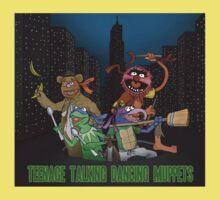 Teenage Talking Dancing Muppets Kids Tee
