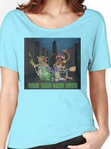 Teenage Talking Dancing Muppets Women's Relaxed Fit T-Shirt
