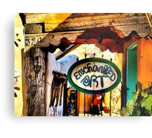 Enchanted Art in Old Town Albuquerque Metal Print