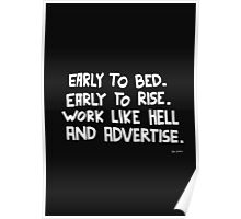 Rise and Advertise Poster
