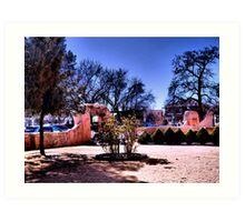 Enchanted Old Town Plaza, Albuquerque Art Print