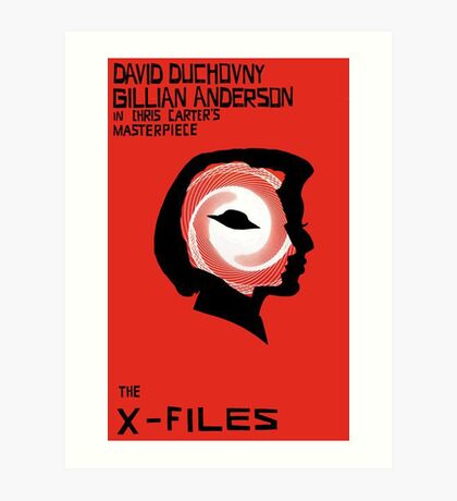 the x-files Art Print