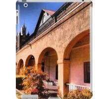 18th Century Portals of San Felipe de Neri in Old Town Albuquerque iPad Case/Skin
