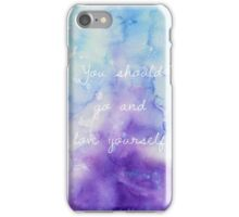 love yourself jb iPhone Case/Skin