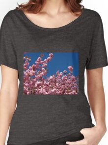 Pink Blossoms and Blue Sky Women's Relaxed Fit T-Shirt