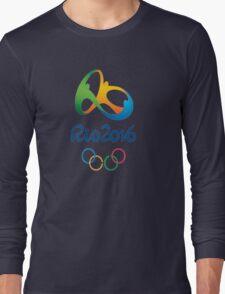 Rio De Janeiro Rio 2016 Olympics Long Sleeve T-Shirt