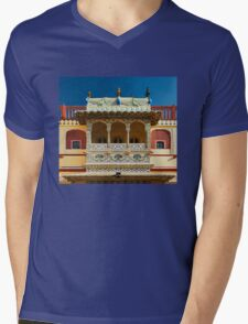 City Palace Porch Mens V-Neck T-Shirt