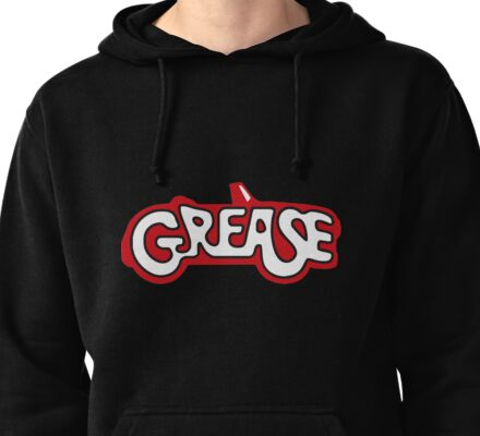 grease Pullover Hoodie