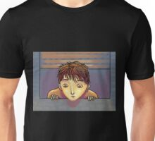 looking through the window Unisex T-Shirt
