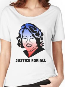Justice for All, Sonia Sotomayor Women's Relaxed Fit T-Shirt