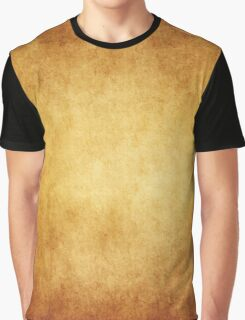 Yellow Brown Parchment Paper Texture Background Graphic T-Shirt