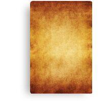 Yellow Brown Parchment Paper Texture Background Canvas Print
