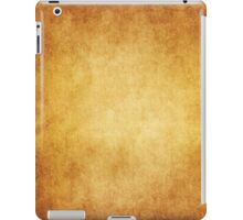 Yellow Brown Parchment Paper Texture Background iPad Case/Skin