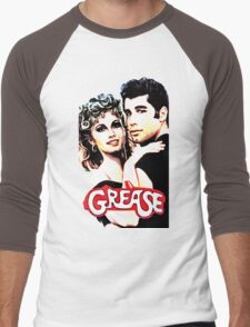 grease Men's Baseball ¾ T-Shirt