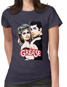 grease Womens Fitted T-Shirt