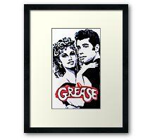 grease Framed Print
