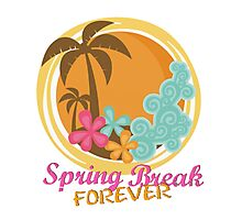 Spring Break Forever Photographic Print