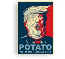 //*The potato*// Canvas Print