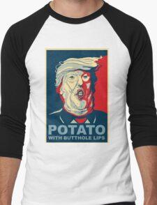 //*The potato*// Men's Baseball ¾ T-Shirt