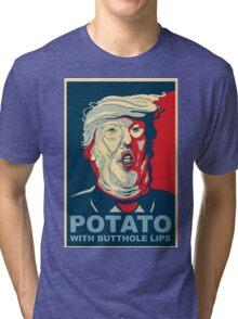 //*The potato*// Tri-blend T-Shirt