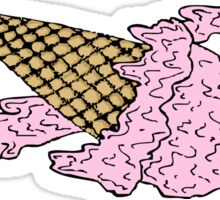 Ice cream 4 ever Sticker