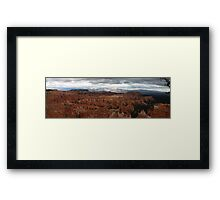 Mysterious Canyons of Dreams  Framed Print