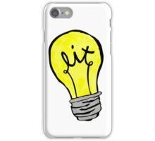 It's lit iPhone Case/Skin