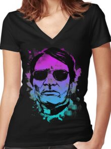 Jim Jones is Pretty Women's Fitted V-Neck T-Shirt