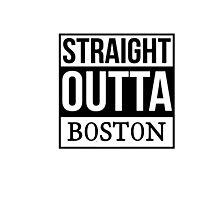 Straight outta Boston Photographic Print