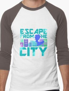 Escape from the City Men's Baseball ¾ T-Shirt