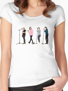 One Direction 8 Women's Fitted Scoop T-Shirt