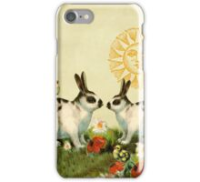 Bunnies and Chicks iPhone Case/Skin