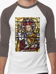 Stain Glass Window Men's Baseball ¾ T-Shirt