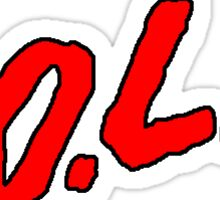 Y.O.L.O. Sticker