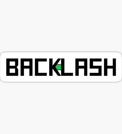 BACKLASH logo Sticker