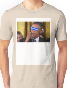 Obama walks into Supreme Newyork Unisex T-Shirt