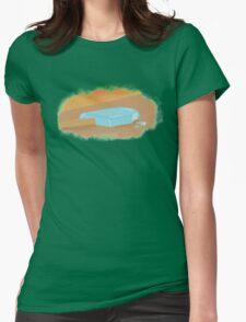 Sea Salt Ice Cream KH Womens Fitted T-Shirt