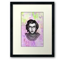 Sci-Fi boyfriend Kylo Framed Print