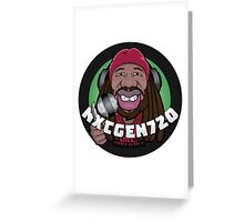 Nxtgen720 Caricature Greeting Card