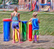 Playground Ensemble Sticker