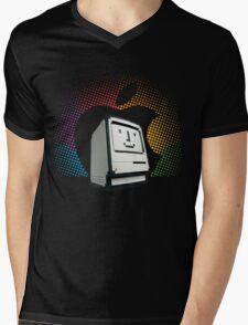 Happy Classic Mens V-Neck T-Shirt