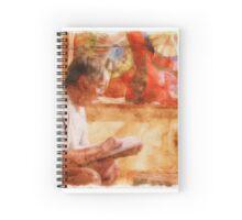 Art Reading Spiral Notebook