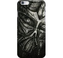The Face of Darkness iPhone Case/Skin