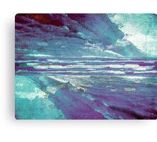 Mirrored Sea Canvas Print