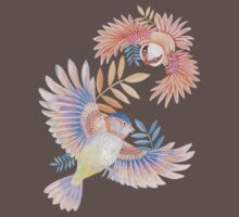 Birds of Paradise One Piece - Short Sleeve