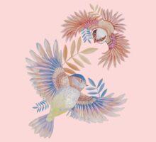 Birds of Paradise One Piece - Long Sleeve